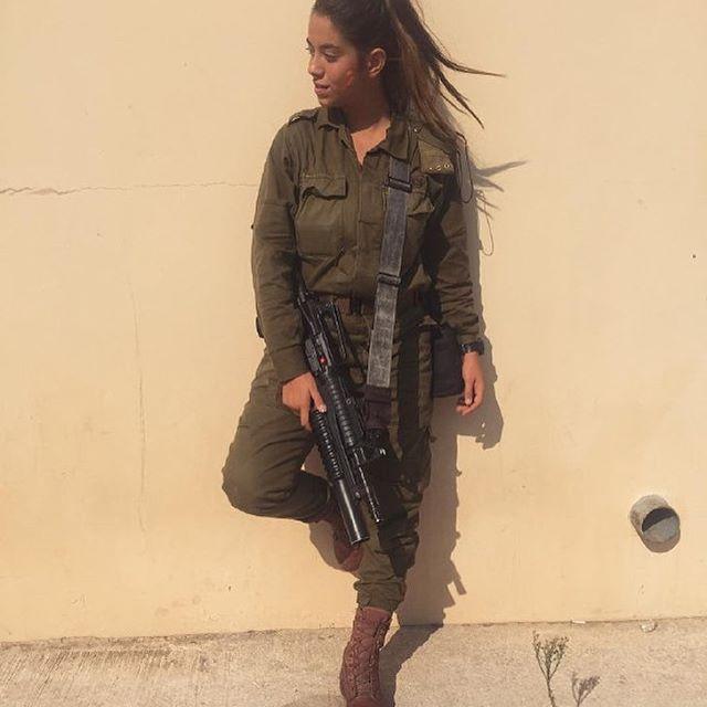 Красавицы израильской армии