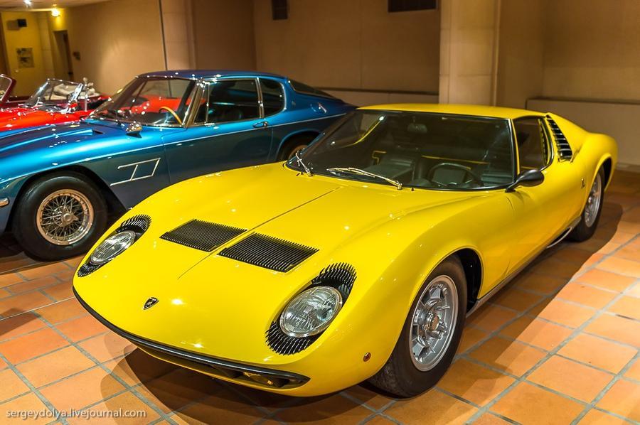 50. Lamborgini Muira P400 выпуска 1967 года.