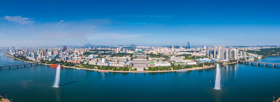 Панорамные фото Северной Кореи