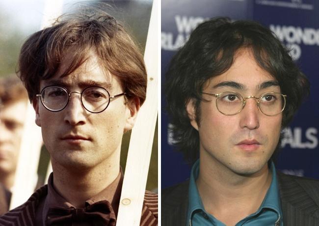 Джон Леннон — 32 года, Шон Леннон — 28 лет.