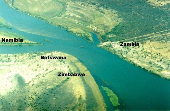 8. Ботсвана, Намибия, Замбия и Зимбабве