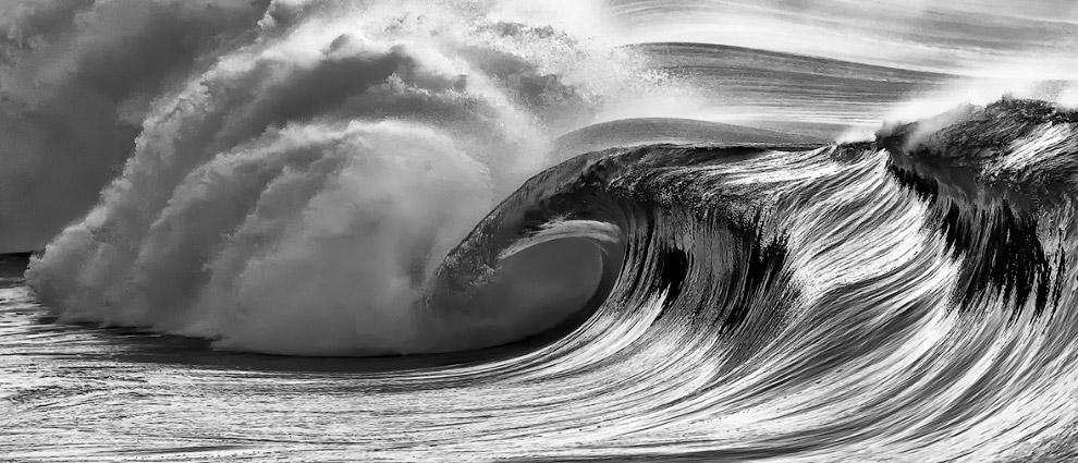 3. «Черно-белое», победитель среди молодых фотографов. Вечер в калифорнийских горах. (Фото John
