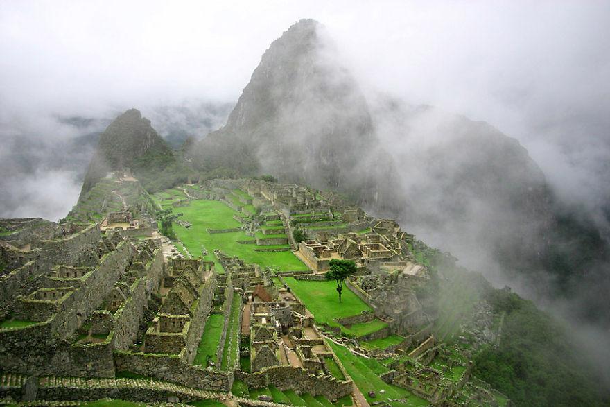 Древнее святилище Мачу-Пикчу, Перу.