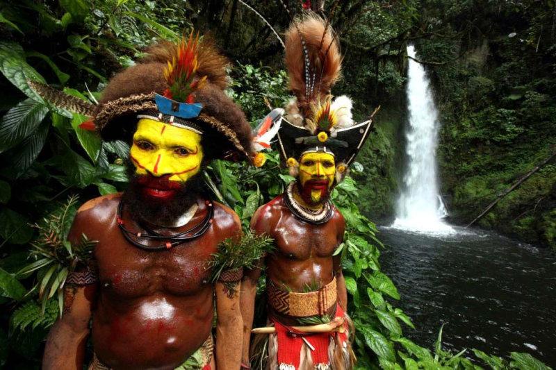 Папуасы мумифицируют своих вождей