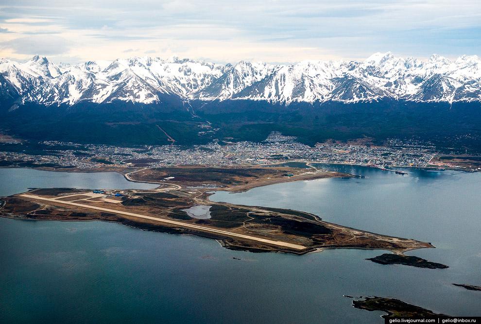 13. Южный порт аргентинского военного флота — база ВМФ имени адмирала Бериссо.