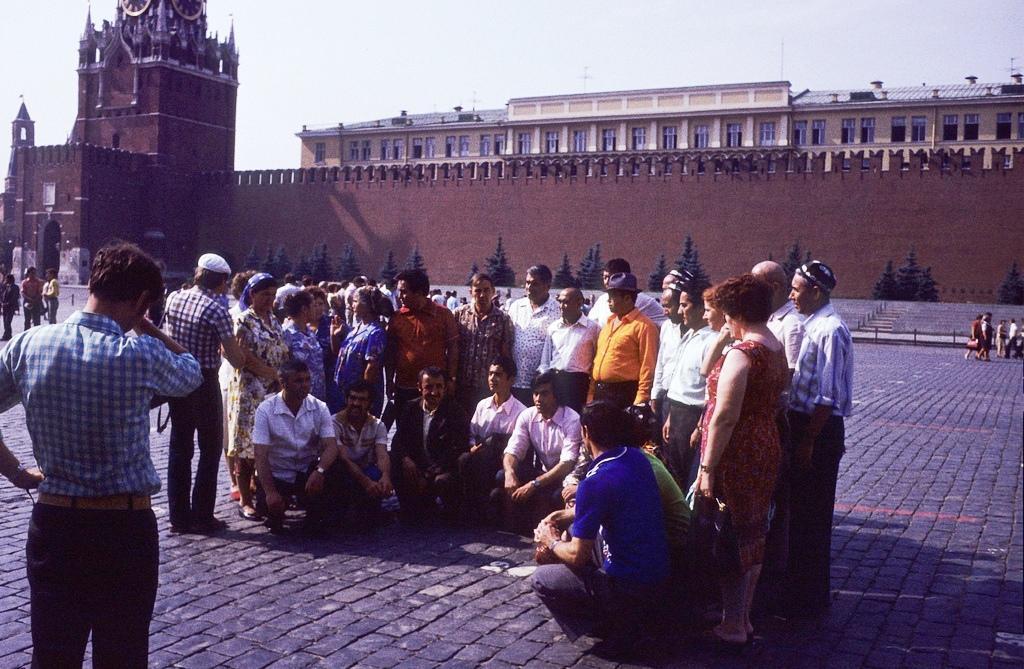 Москва — Сибирь — Япония в 1980 году (27 фото)