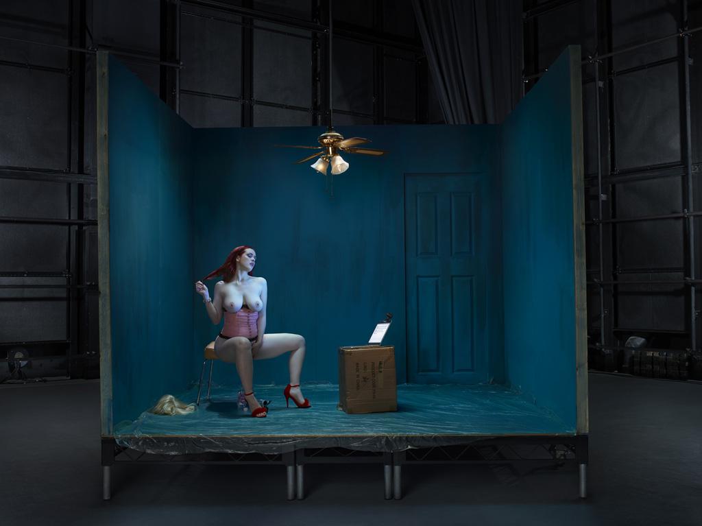 Джей Роуз, вебкам-модель. Фуллертон-Баттен отлично понимала, что занимает позицию силы и именно она