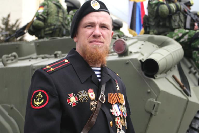 Машина спапахой Моторолы угодила вДТП подороге вмузей Новороссии