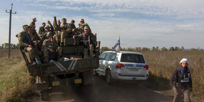 НаЛуганщине ОРЛО срывает соглашение оразведении сил