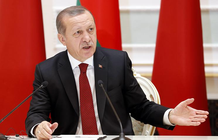 Эрдоган допустил отказ Турции отевроинтеграции