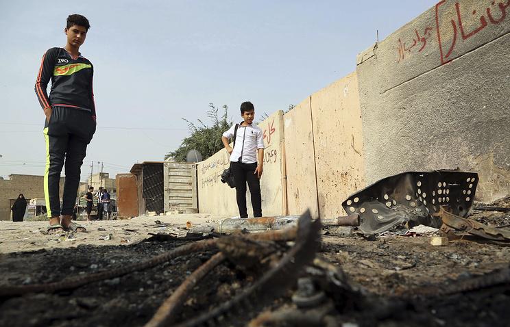 В различных районах Багдада прогремела серия взрывов: погибли 7 человек