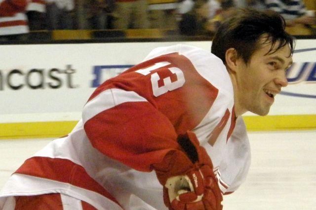 Хоккеист Дацюк перенервничал перед защитой диплома. Спал всего 5 часов