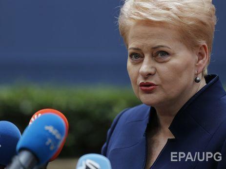 Литва готова клюбым действиям Владимира Путина