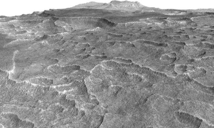 НаМарсе найден таинственный лабиринт