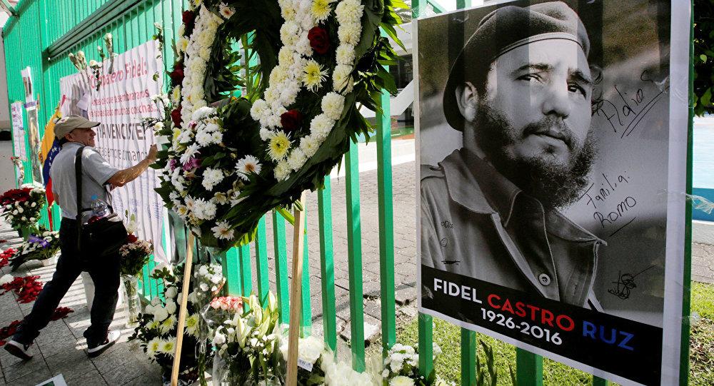 ВСантьяго-де-Куба началась церемония похорон Фиделя Кастро