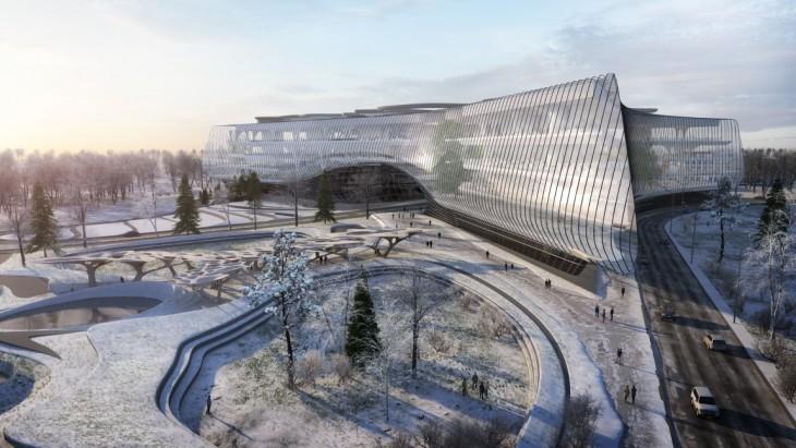 Sberbank Technopark by Zaha Hadid Architects