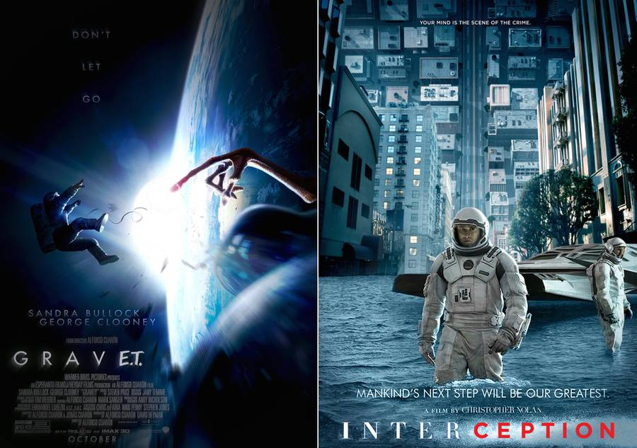 Blockbusters Mixed Movie Posters (12 pics)