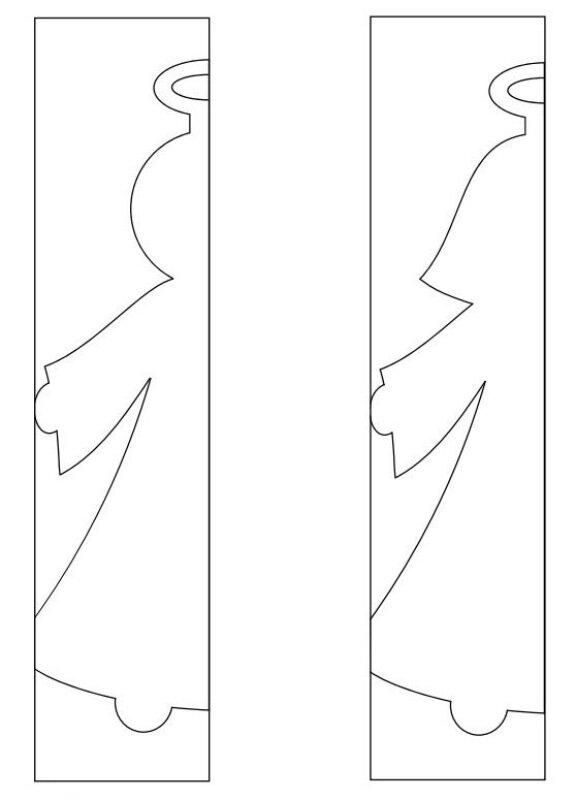 Шаблоны для гирлянды своими руками 729