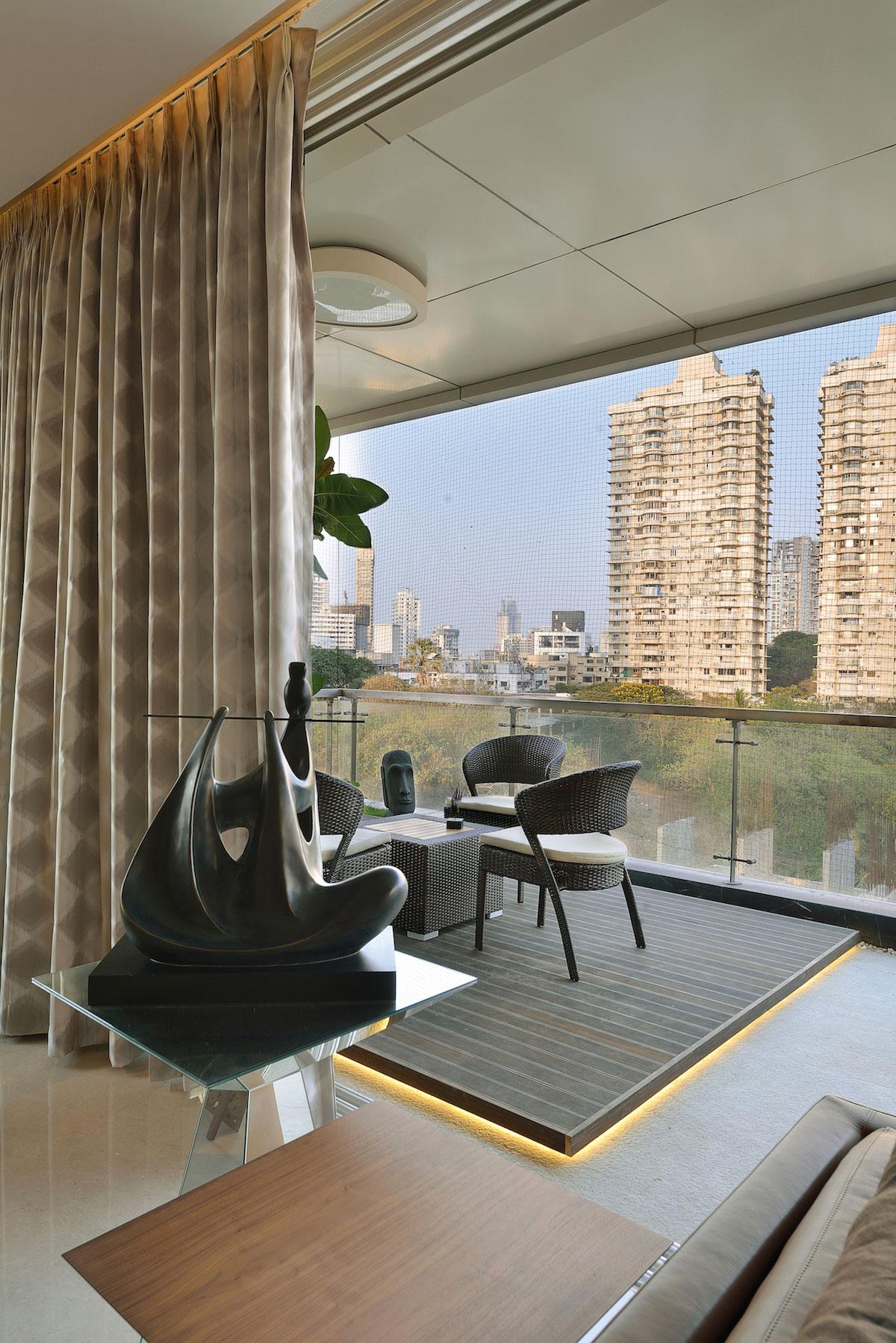 Стильный дуплекс в Мумбаи