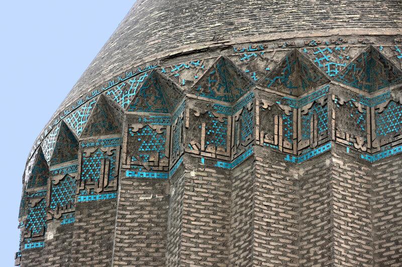 Изазцовый декор мавзолея Ала ад-Дина