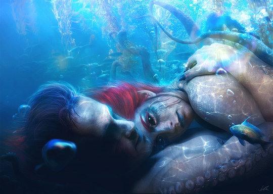 Beautiful Digital Art by Erik Schumacher