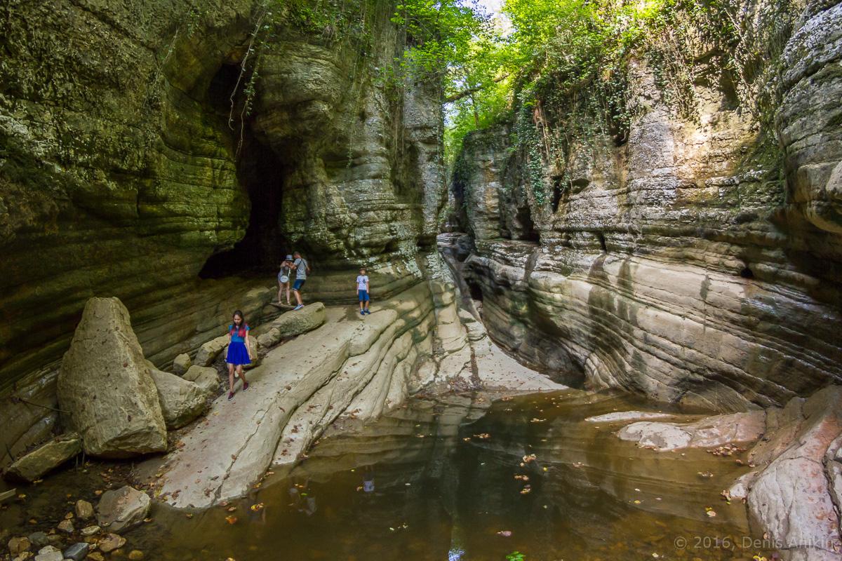 Агурское ущелье, водопады фото 14