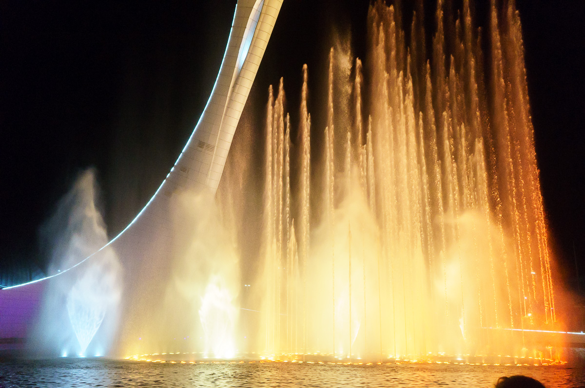 Поющий фонтан, Олимпийский парк, Сочи фото 5
