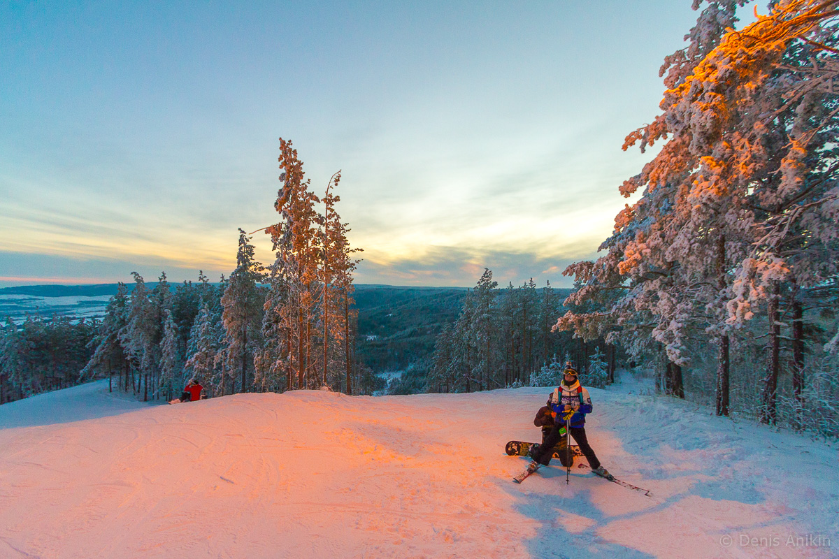 хвалынск зима горнолыжка фото 2