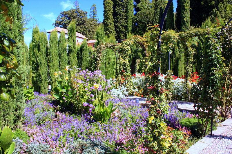 В садах Хенералифе