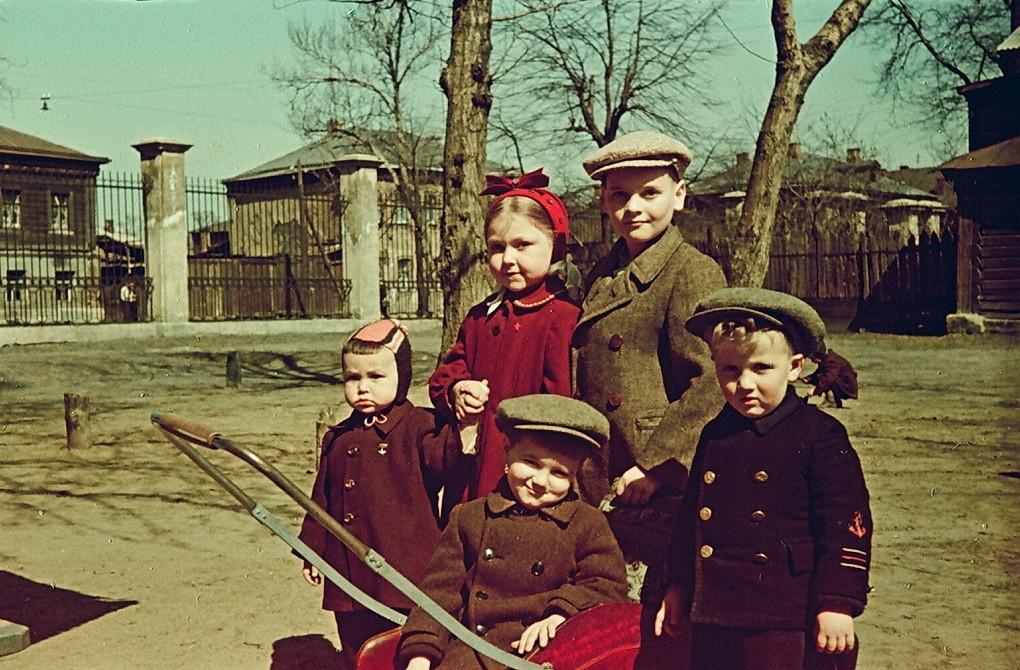 514992 Вид на 1-й Лазаревский переулок сер. 1950-х.jpg