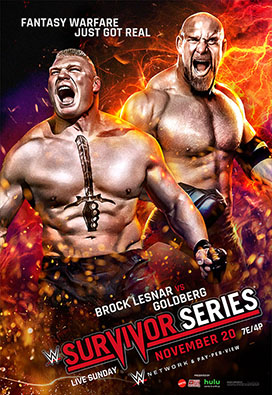 Post image of WWE Survivor Series 2016