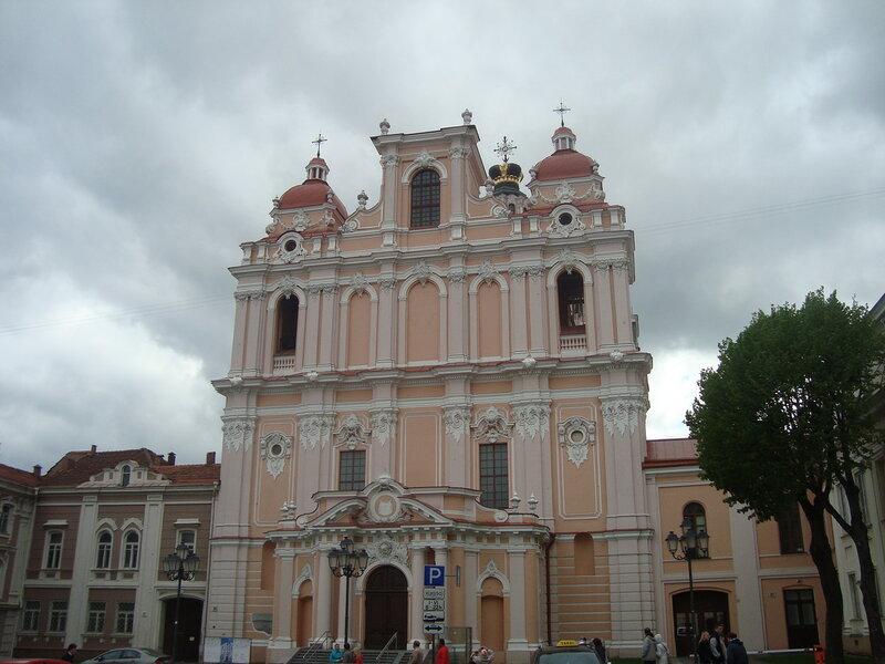 Вильнюс. Костёл святого Казимира (2)