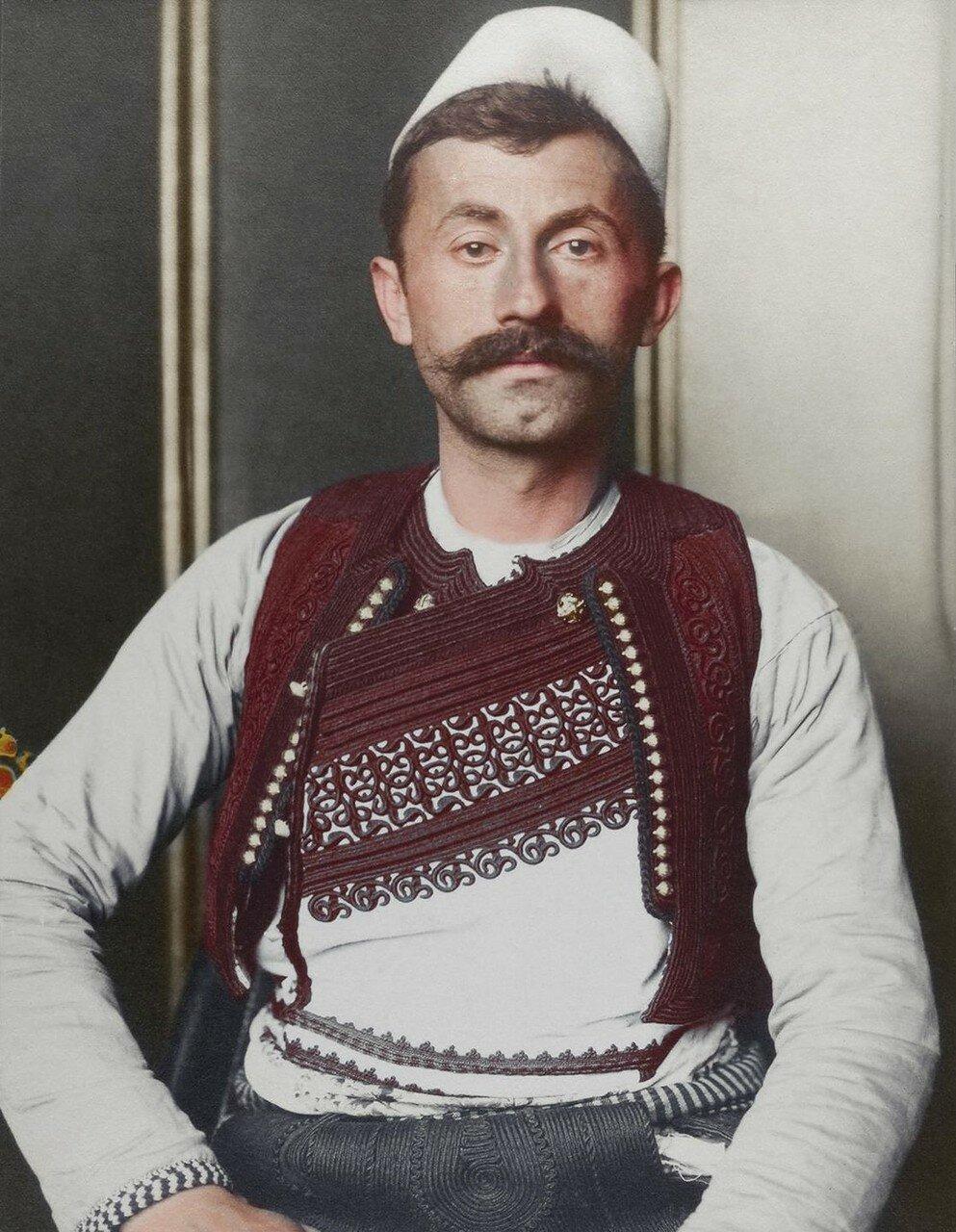 Албанский солдат. 1911