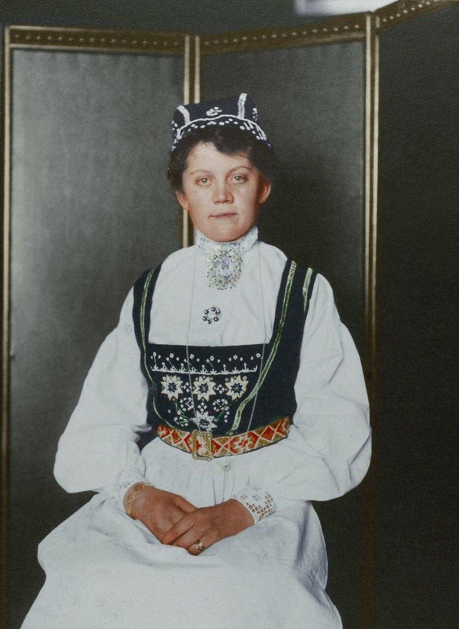 Девушка из Норвегии. 1910