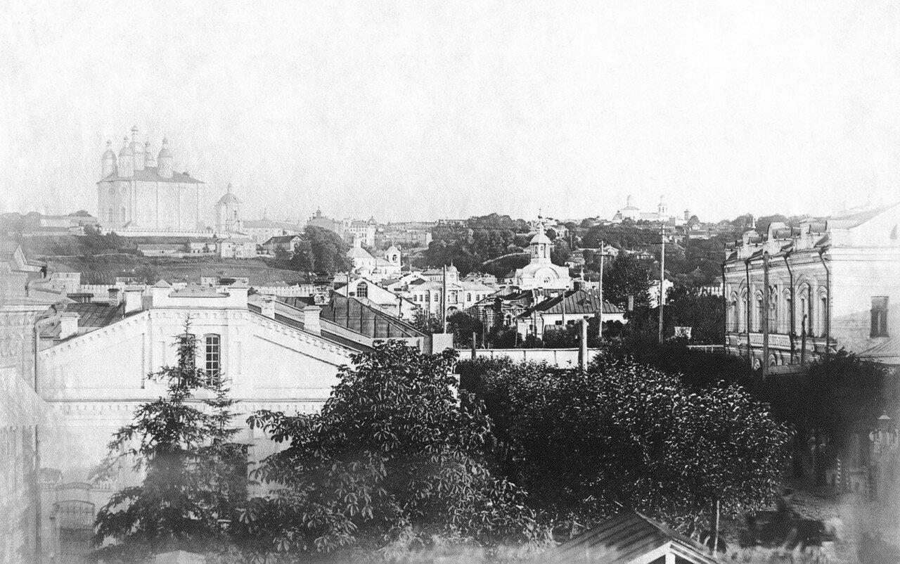 Вид города из Заднепровья. 1911