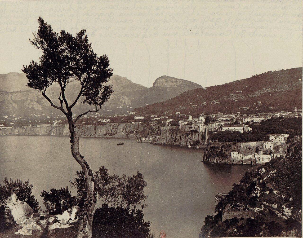 96. Окрестности Неаполя. Сорренто. Общий вид с Каподимонте