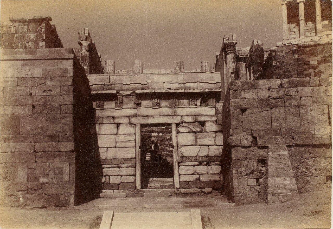 72. Афины. Вход на Акрополь