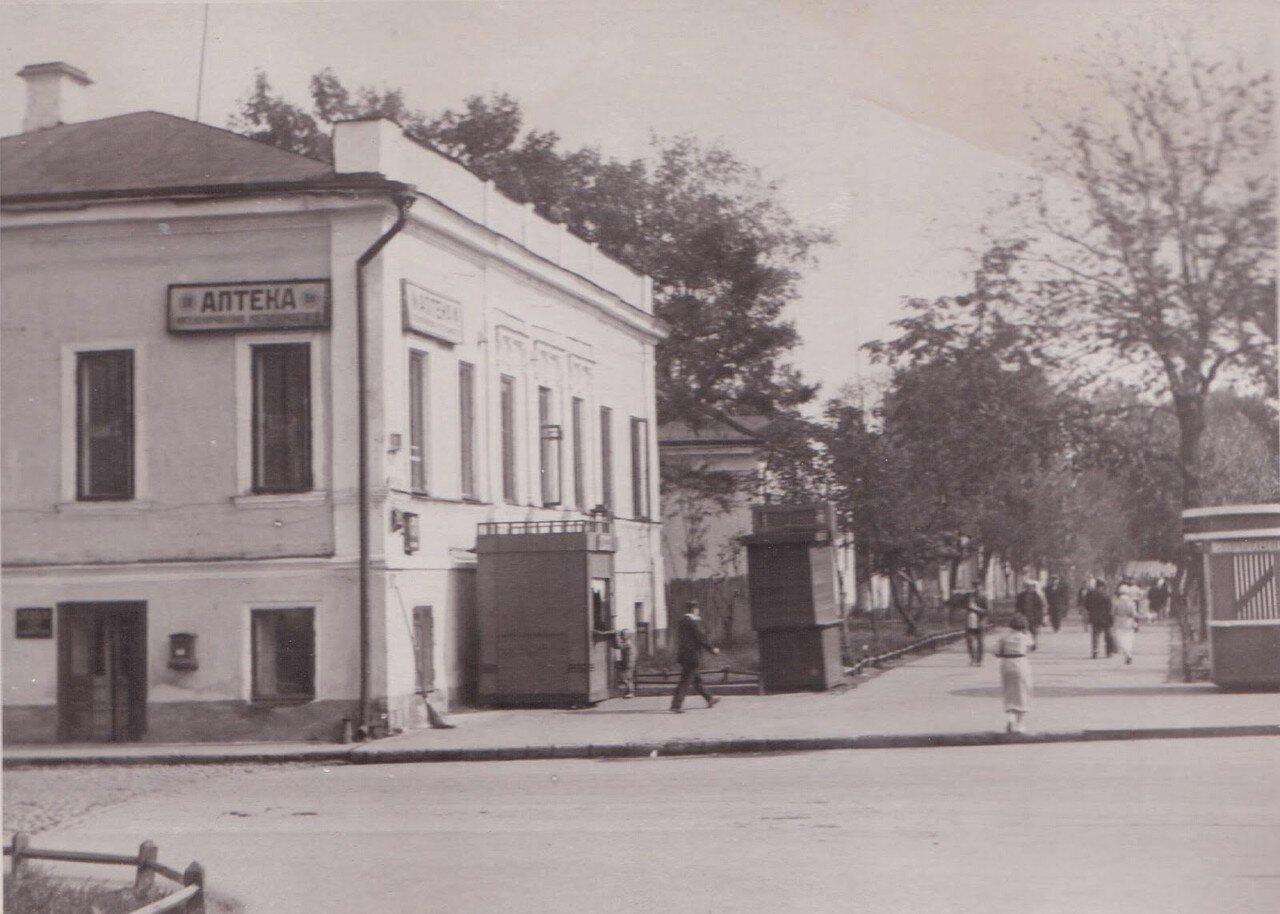 1930-е. Большая Садовая. Аптека