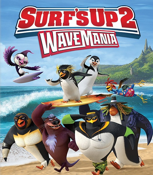 Лови волну 2 / Surf's Up 2: WaveMania (2017/WEB-DL/WEB-DLRip)