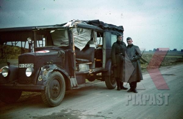 stock-photo-destroyed-german-medical-red-cross-truck-france-1940-8599.jpg