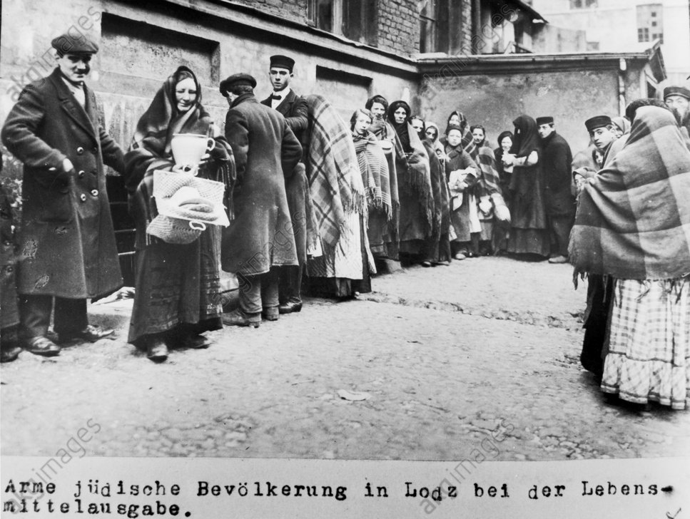 Jьdische Bevцlkerung in Lodz/ 1915 - Jewish people in Lodz/ 1915 -