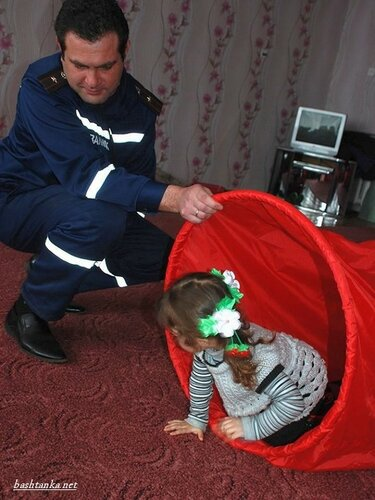 Баштанські рятувальники спілкувалися з дітьми