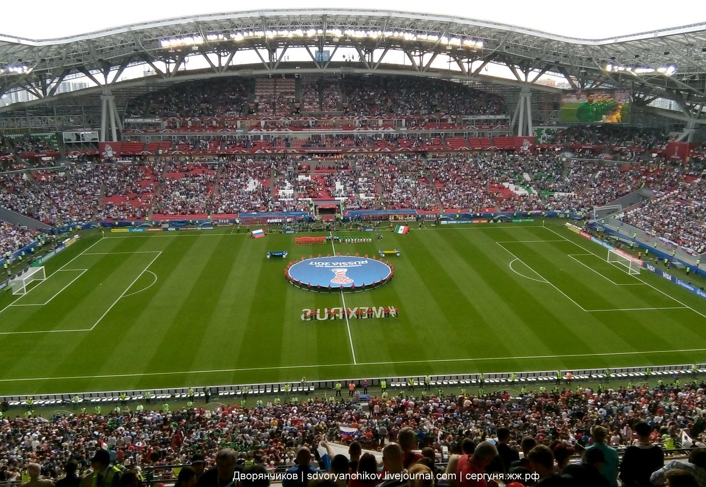 Россия - Мексика - Кубок конфедераций