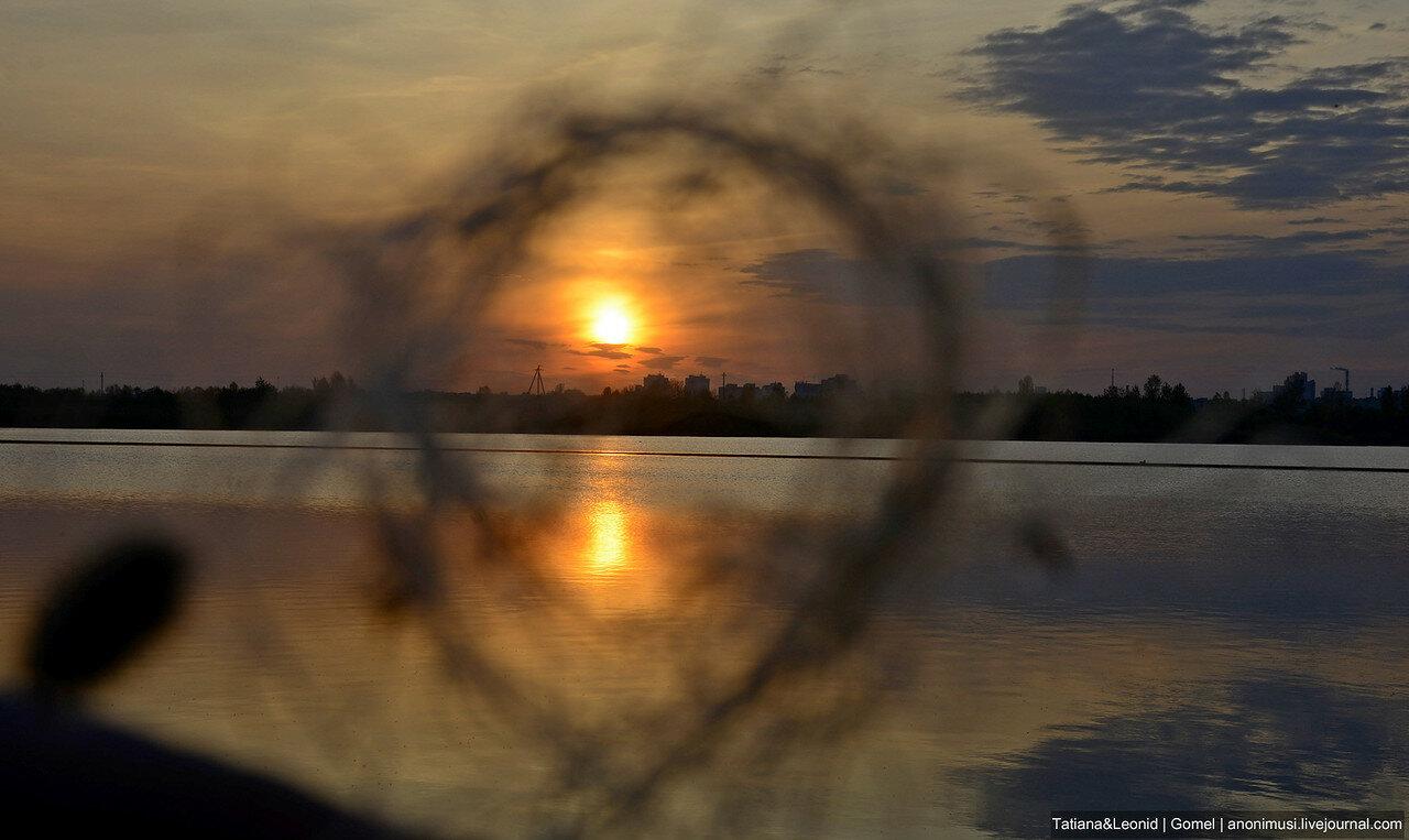 Закат над Сожем