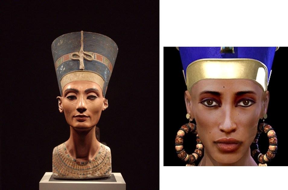 1. Не исключено, что так выглядела знаменитая Нефертити — мать фараона Тутанхамона. В 2003 году егип