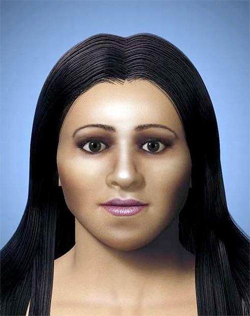 10. В 2009 году была реконструирована внешность Арсинои IV, младшей сестры и жертвы царицы Клеопатры