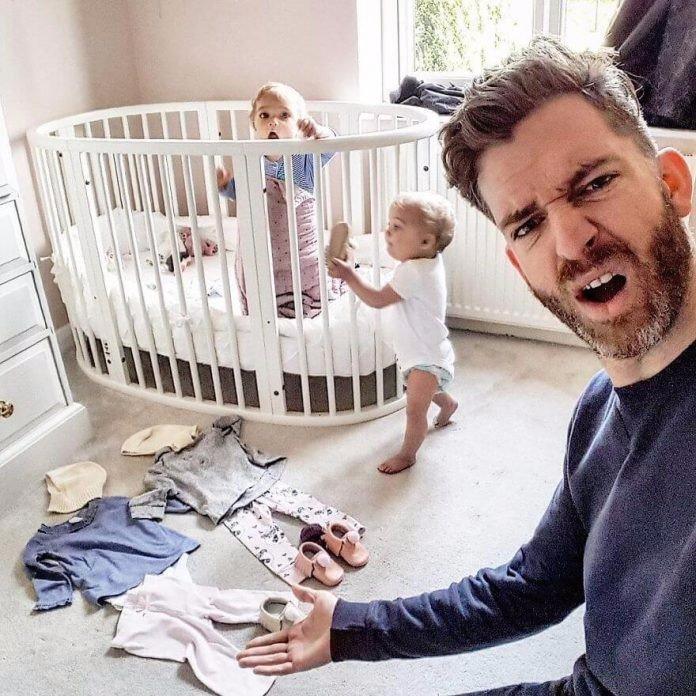 Многодетный отец покорил интернет своим инстаграмом