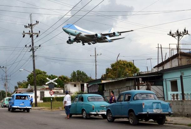Встреча принца Джорджа и президента США Барака Обамы