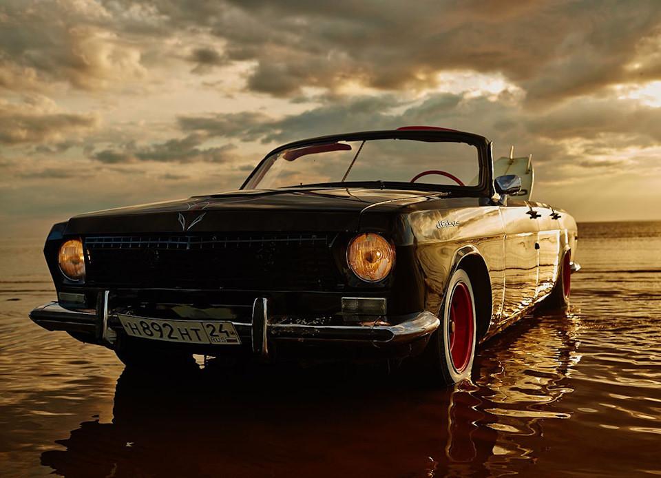 4. ГАЗ 24 Cabrio Вторую жизнь эта малышка, 1974 года выпуска, получила в Красноярске. К слову, автор