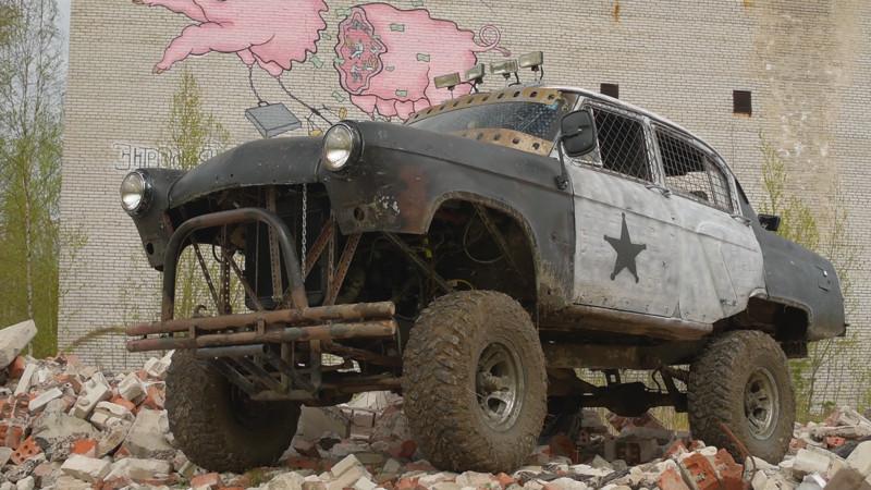 Волга ГАЗ-21 в стиле Fallout (7 фото)